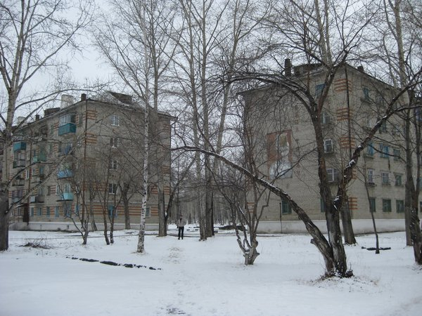 Mid-May in Solnechny, a town near Komsomolsk-Na-Amure, Russian Far East